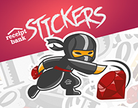Receipt Bank - sticker pack