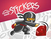 Receipt Bank - sticker pack