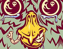 Owl Creature Skateboard