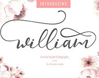 Free | William Script Font