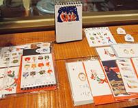 '2016 bigman calendar' package