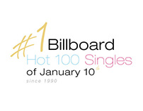 #1 Billboard Hot 100 Singles for January 10th
