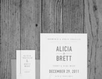 ALICIA & BRETT