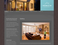 Domain Custom Homes Website