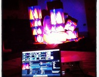 Beyond the Screen - VJ and 3D Projection Mapping