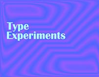 type experiments