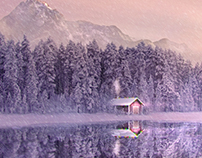 Christmas is Coming - Matte Painting