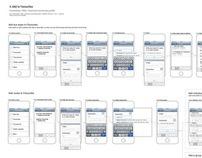 Translink App revamp - IA work