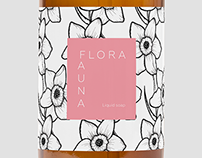 Cosmetics Label Design FLORA&FAUNA -Briefbox-