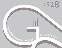 Gill Sans Poster Design
