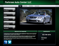 Parkrose Auto Center LLC Website design
