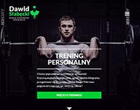 dawidslabecki.pl / Personal Trainer Website