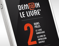 Application Iphone Demain le livre