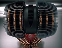 3d visualization cpu cooler