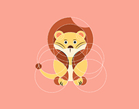 Geometric Animal Icons