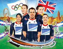 Olympic Cycling Book Cover