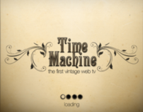 Time Machine - Vintage web tv