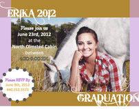 Erika_Grad Invitation