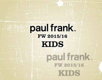 Paul Frank FW 15/16 Product Catalog