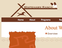 Whitehawk Ranch // Website