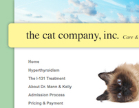 The Cat Company // Website
