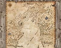 Map of Ĭndrēl