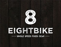 T-shirt graphics for EIGHTBIKE.