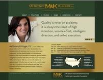 McGivney & Kluger (NYC) Website