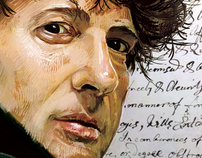 A Portrait of the Strange and Wonderful Neil Gaiman