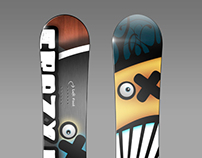 SNOWBOARD theme Design