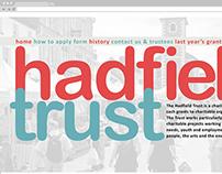Hadfield Trust - Logo and Website