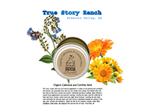 True Story Ranch organic products.