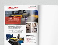 Ajan Trade Publication Advertisement