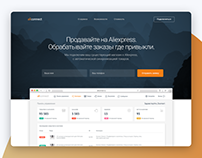 Aliconnect Dashboard and Landing page UI design