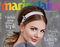 Marie Claire CZ August 2015 Lenny