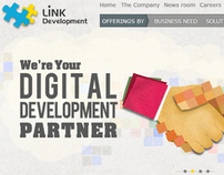 LINK DEV Website Banners 2010 (Old Work)