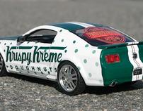 Krispy Kreme Carwrap