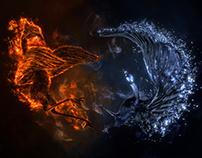 Kindo // Feuer und Wasser