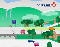 Vinci - Illustration infographic