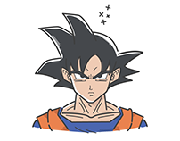 Goku's Transformations Illustrations