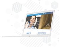 Unique Smile Clinic UI-UX design