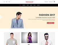 Priyoshop - eCommerce Fashion Template