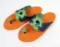 Fat Cats in Space: The Flip Flop Collection