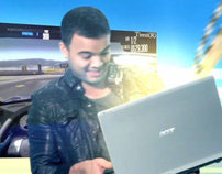 Acer 5950G With Guy Sebastian.