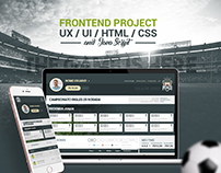 Frontend Project Web Mobile First for FantasyGame