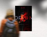 Poster design for ORION