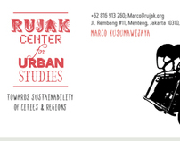 RUJAK CENTER for URBAN STUDIES