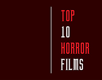 Top 10 Horror Films | Infographic