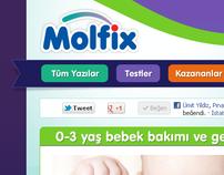 Molfix Bebek Bakımı Sitesi