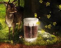 Jägermeister concept - World in a bottle - Wallpaper